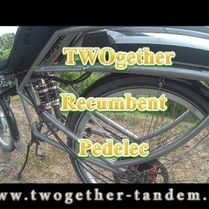 Recumbent Pedelec TWOgether - YouTube