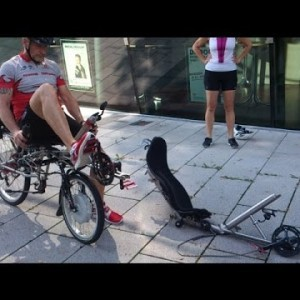 "Cycling - Fun ""TWOgether"" and alone - YouTube"