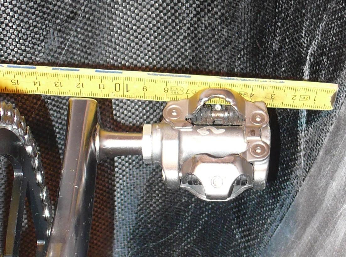 alte Kurbel ca 10cm Loch: 16mm